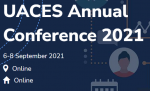 Homepage for UACES 2021